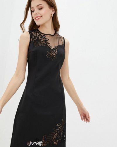 Черное вечернее платье Ricamare