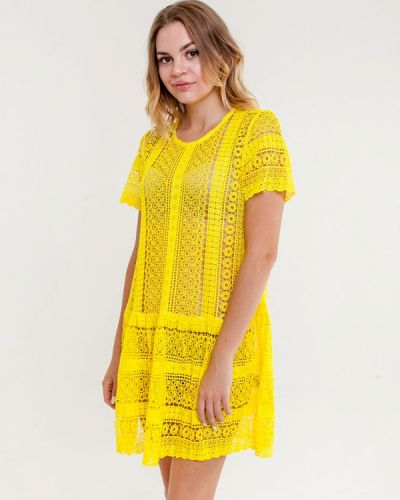 Желтая туника Mia-amore