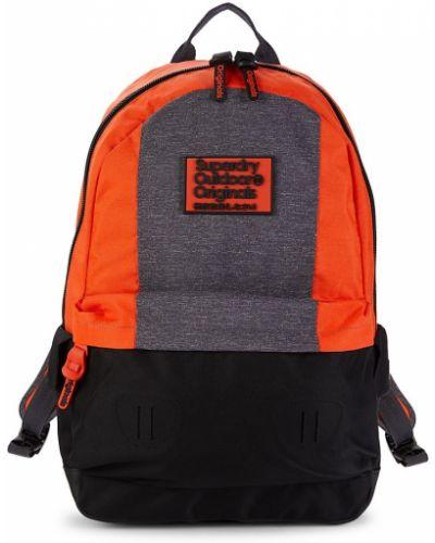 Czarny plecak z wiskozy Superdry