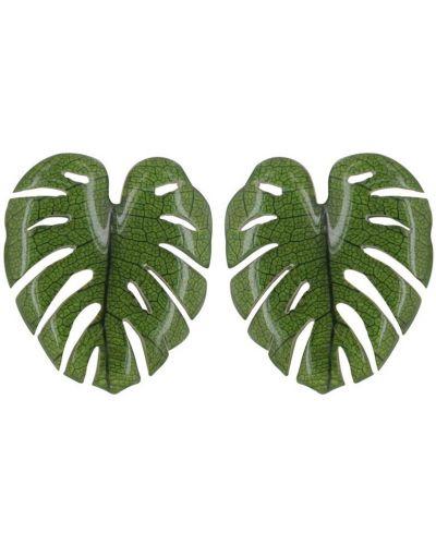 Зеленые серьги Nature Bijoux