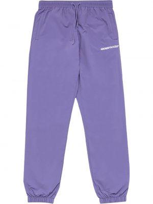 Фиолетовые хлопковые брюки с карманами Stadium Goods
