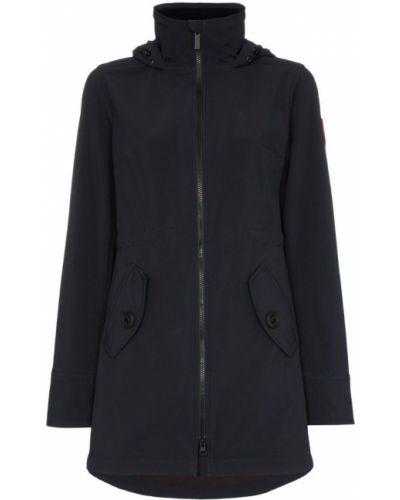 Куртка с капюшоном черная на молнии Canada Goose