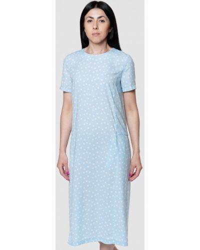 Платье - голубое Arber