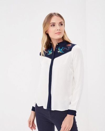 Синяя блузка Sugarhill Boutique