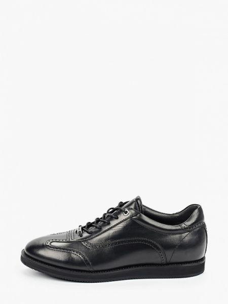 Кожаные черные туфли Roberto Piraloff