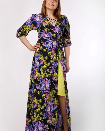 Платье макси с цветочным принтом Lacywear