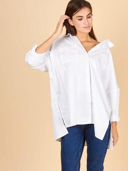 Рубашка с карманами однотонная 12storeez