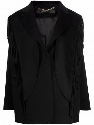 Черный однобортный пиджак Federica Tosi