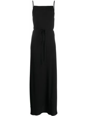 Тонкое платье с открытой спиной на бретелях без рукавов Calvin Klein