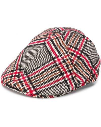 Красная акриловая кепка узкого кроя Tagliatore