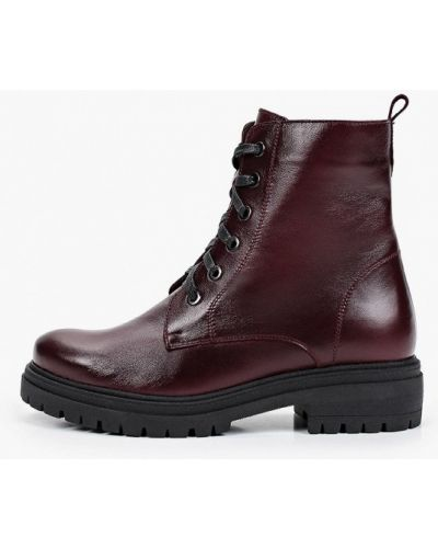 Бордовые зимние ботинки Shoiberg
