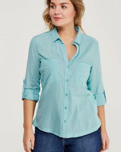 Бирюзовая блузка Violeta By Mango