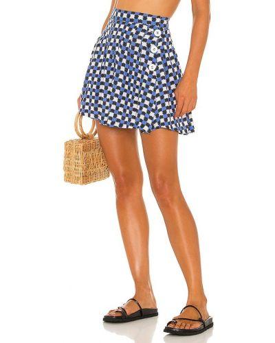 Теннисная юбка - синяя Solid & Striped