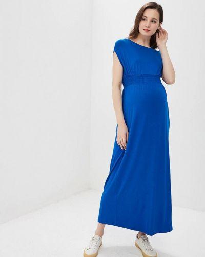 Платье для беременных весеннее синее Dorothy Perkins Maternity