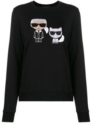 Свитер длинный Karl Lagerfeld