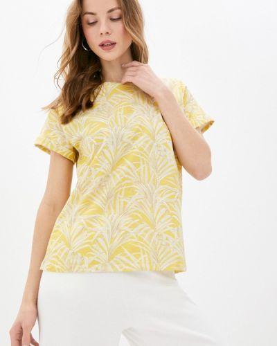 Желтая футболка с короткими рукавами Unq