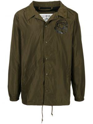 Зеленая куртка из полиэстера Billionaire Boys Club