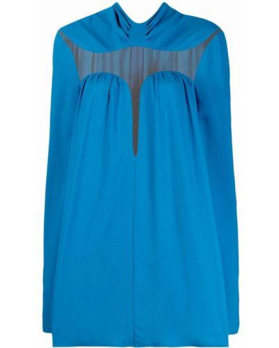 Платье макси длинное - синее Stella Mccartney