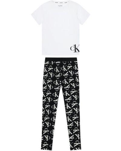 Biała piżama Calvin Klein