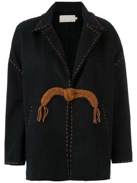 Шерстяное пальто с карманами Le Soleil D'ete