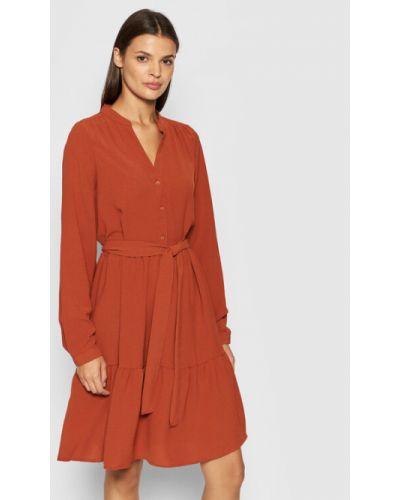 Sukienka - czerwona Selected Femme