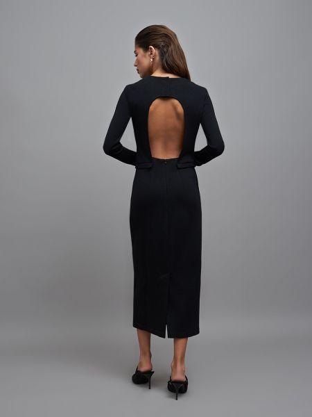 Платье с открытой спиной с вырезом 12storeez