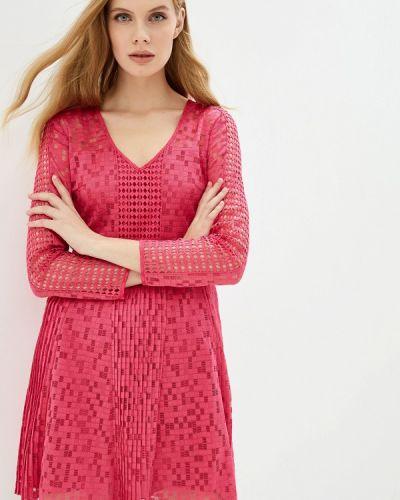 Вечернее платье розовое осеннее Armani Exchange