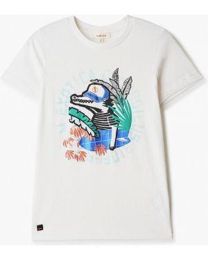 Белая футболка Catimini