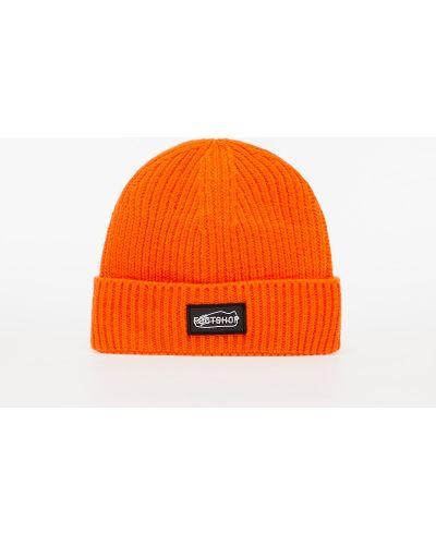 Pomarańczowa czapka beanie Footshop