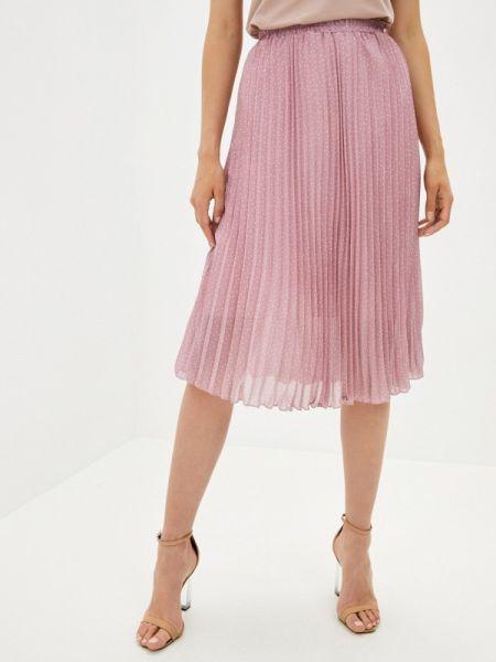 Плиссированная розовая плиссированная юбка Shelter