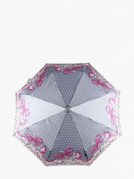 Серый складной зонт Eleganzza