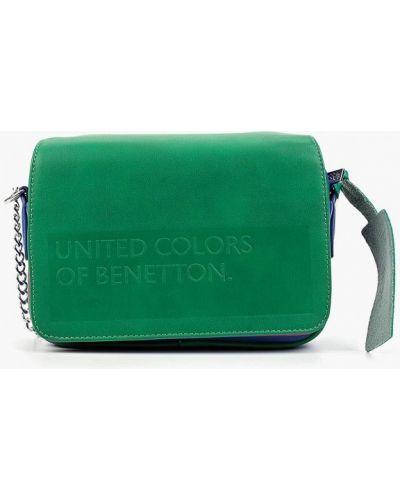 Кожаная сумка через плечо из искусственной кожи United Colors Of Benetton