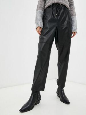 Черные кожаные брюки Lusio