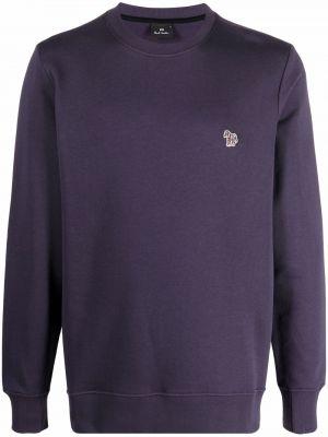 Bluza dresowa - fioletowa Ps Paul Smith