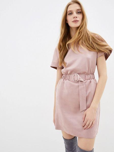 Платье прямое розовое Love Republic