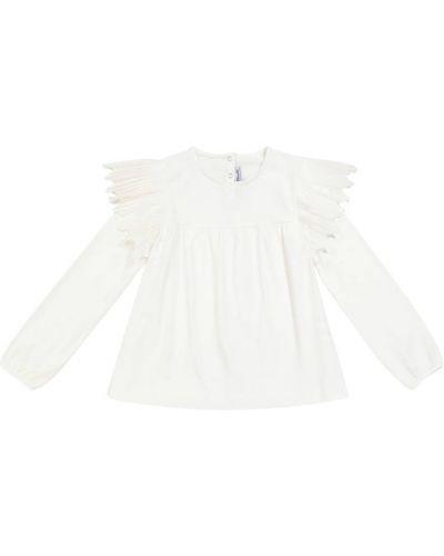 Хлопковая блузка - белая Tartine Et Chocolat