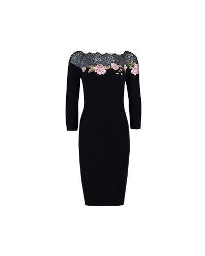 Черное платье Blumarine