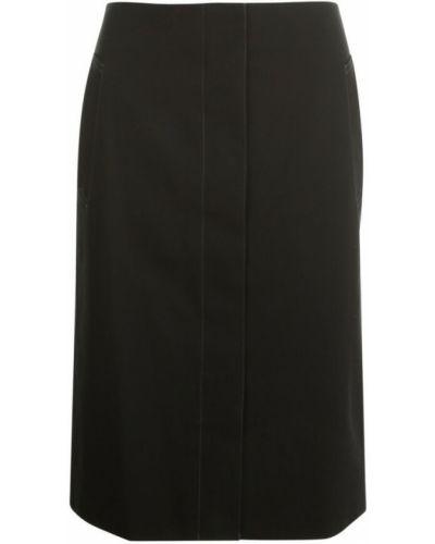 Czarna spódnica Lemaire