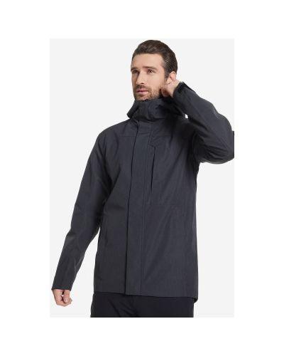 Черная куртка мембранная на молнии Northland