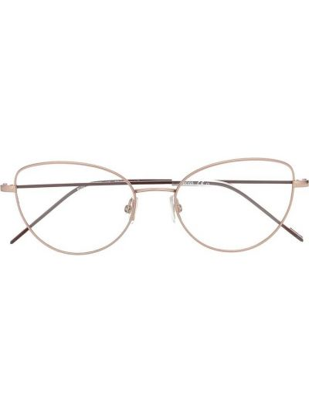 Różowa oprawka do okularów Boss