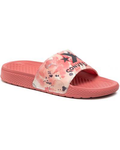 Klapki - różowe Converse