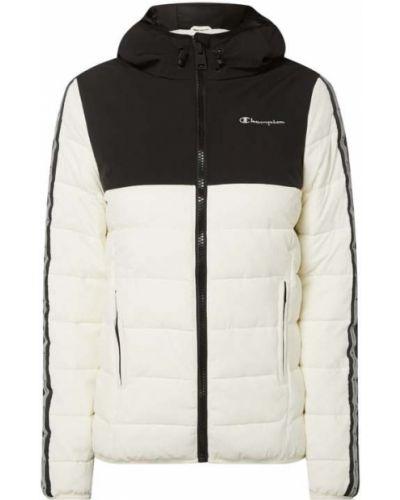 Biała kurtka pikowana Champion