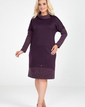 Повседневное платье лапша на пуговицах марита