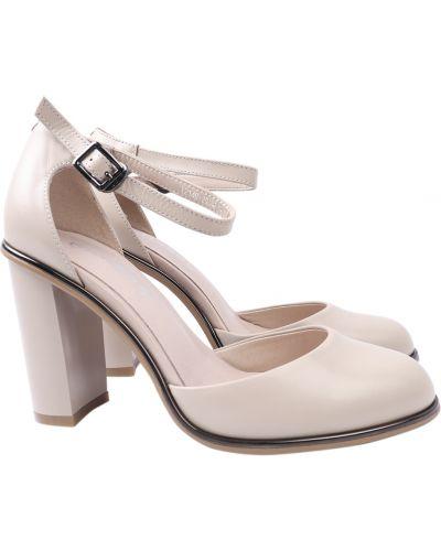Кожаные туфли - бежевые Erisses