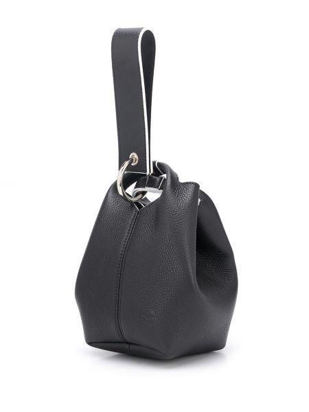 Черная сумка-тоут Elena Ghisellini