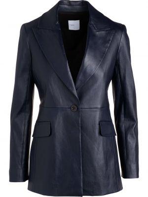 Кожаный пиджак - синий Rosetta Getty