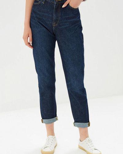 Синие джинсы бойфренды Lee