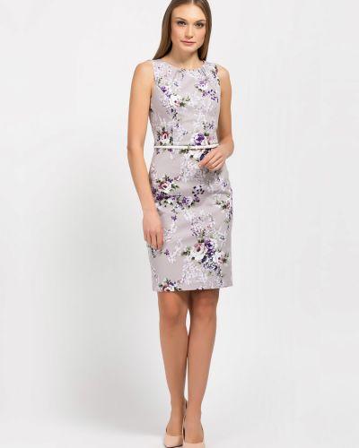 Платье с открытой спиной на торжество без рукавов круглое Remix