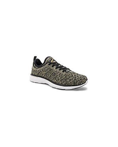 Кроссовки на шнуровке текстильные Athletic Propulsion Labs: Apl