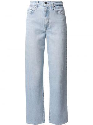 Синие укороченные джинсы Nobody Denim